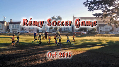 More soccer action!