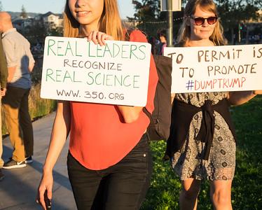 Demonstrators Signs