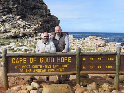 Cape of Good Hope, the southwestern tip of the African continent.