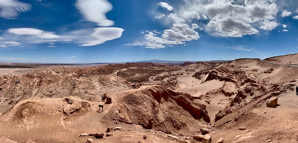 This is Valle de la Luna (Moon Valley), so named because it is what early settlers thought the moon must look like.