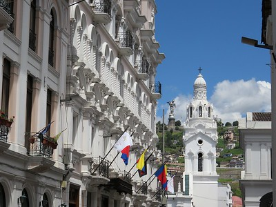Quito, Ecuador. A beautiful city.