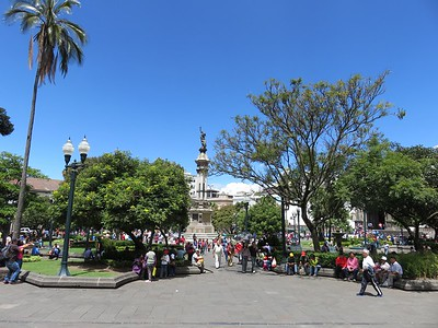Plaza Grande de la Independencia in Quito.