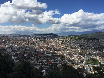 Quito is home to almost 3 million people.