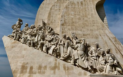 Padrao dos Descobrimentos (Monument of Discoveries) on the Tagus River in Lisbon.