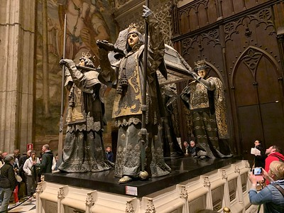 Tomb of Christopher Columbus in the Seville Cathedral