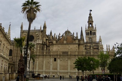 The Real Alcazar in Seville, Spain