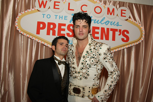 RIT Presidents Ball- Couples & Elvis
