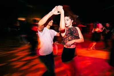 Salsa Dancing at Night II