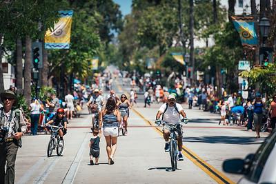 Summer Solstice Santa Barbara Streets