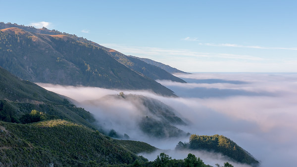 Vincente Flat Overlook Morning