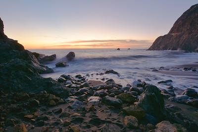 Limekiln Beach Sunset
