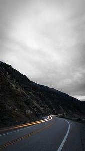 Highway 1 Cloudy Dawn