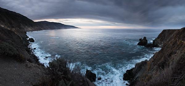 Big Sur Coast South of Limekiln Campground