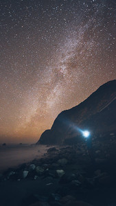 Milky Way from Limekiln Beach