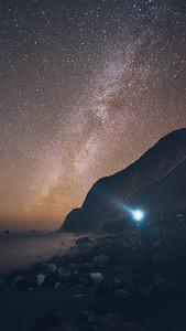 Milky Way from Limekiln Beach