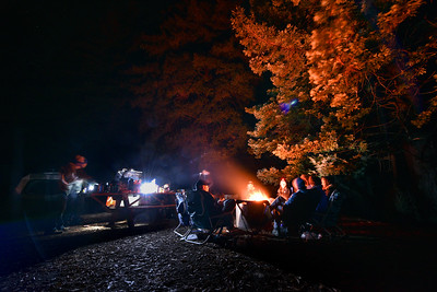 Limekiln Camping Timelapse