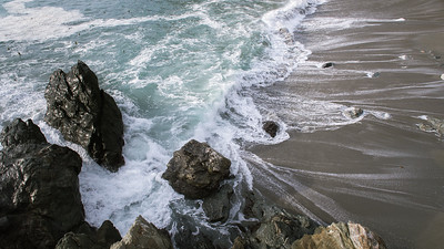Limekiln Beach High Tide II