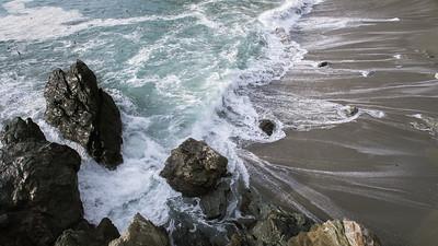 Limekiln Beach High Tide II