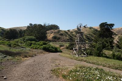 Windmill in Scorpion Anchorage