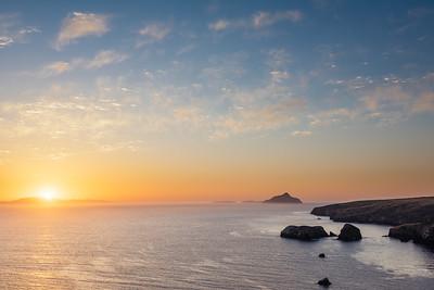 Sunrise Over Anacapa Island