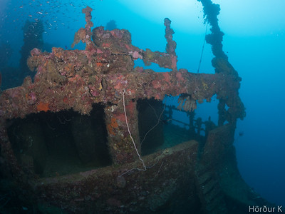 Superstructure of the Nippo Maru