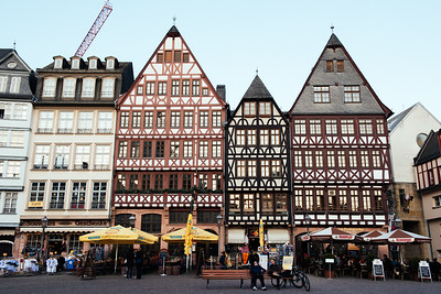 Frankfurt Old City Store Fronts