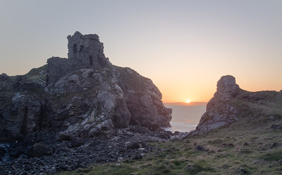 Kinbane Castle Sunrise