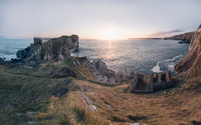 Kinbane Castle and Coast
