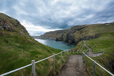 View of Coast from Carrick-a-Rede