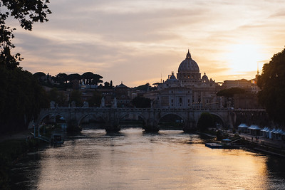 Vatican from River TIber