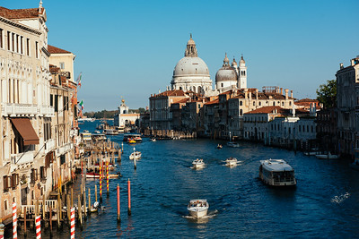 Grand Canal from Ponte dell' Accademia