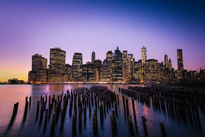 New York City from Pier 1