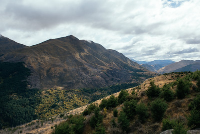 Arthurs Point from Queenstown Hill