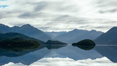 South Fjord from Lake Te Anau