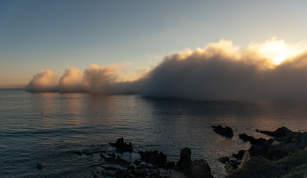 Fog Over Little Corona Beach