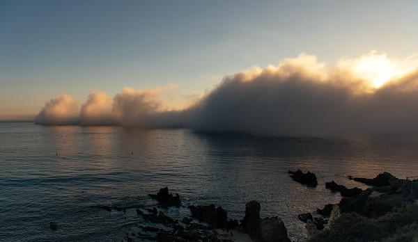 Fog Over Little Corona Beach