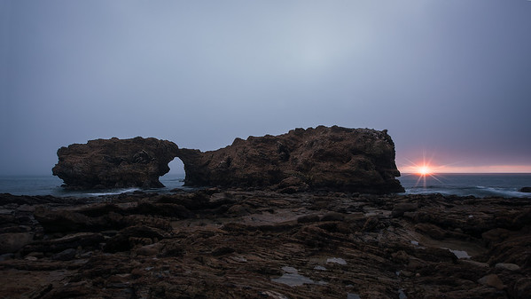 Little Corona Arch at Sunset