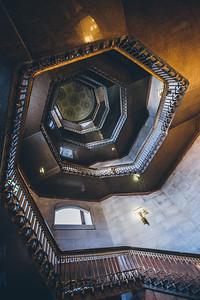 Philidelphia City Hall Stairwell