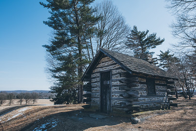 Valley Forge Log Cabin