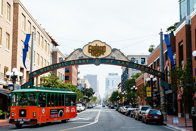 Gaslamp District, San Diego