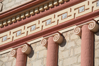 Santa Barbara Mission Architecture Detail