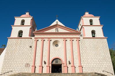 Santa Barbara Mission Close