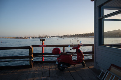 Parking at the Pier