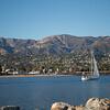 Sailing Santa Barbara Harbor