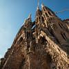 Sagrada Familia Nativity Facade Close