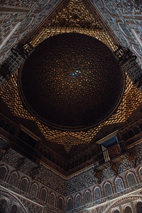 Ceiling in Royal Alcazar