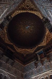 Ceiling in Royal Alcazar