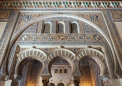 Arches Inside Royal Alcazar