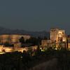 Alhambra Panorama Dusk