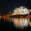 Mallorca Cathedral at Night